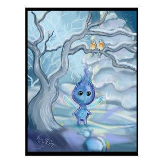 Carte Postale Magie d'hiver