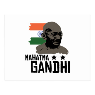 Carte Postale Mahatma Gandhi