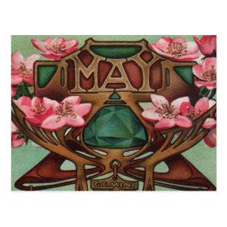 Carte Postale Mai - Gémeaux