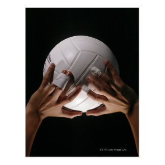 Carte Postale Mains de volleyball