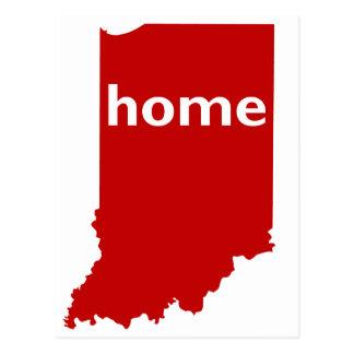 Carte Postale Maison de l'Indiana