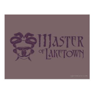 Carte Postale Maître du nom de Laketown