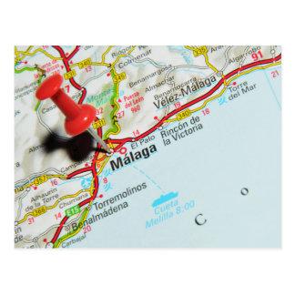 Carte Postale Malaga, Espagne