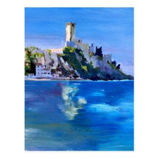Carte Postale Malcesine avec Castello Scaligero