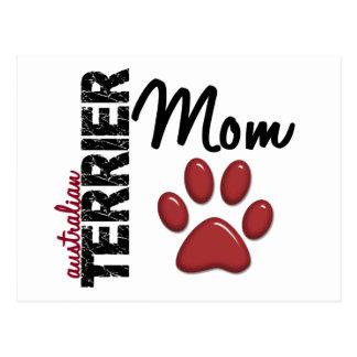 Carte Postale Maman 2 de Terrier australien