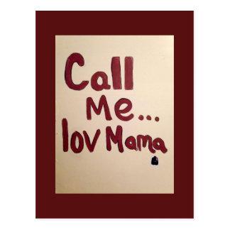 Carte Postale maman d'appel (originale)