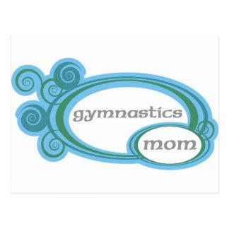 Carte Postale Maman de gymnastique
