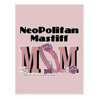 Carte Postale MAMAN de mastiff de Neopolitan