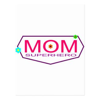 Carte Postale Maman de super héros