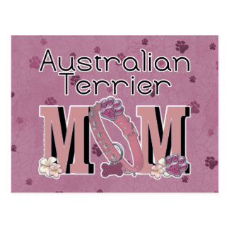 Carte Postale MAMAN de Terrier australien