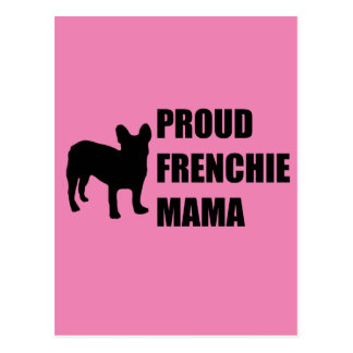Carte Postale Maman fière de Frenchie