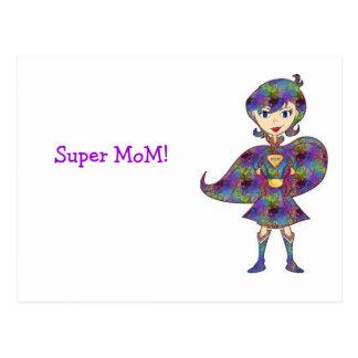 Carte Postale Maman superbe !