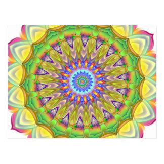 Carte Postale Mandala - complexité