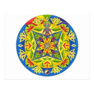 Carte Postale Mandala de Bouddha