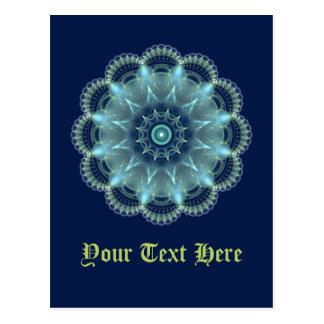 Carte Postale Mandala de fractale