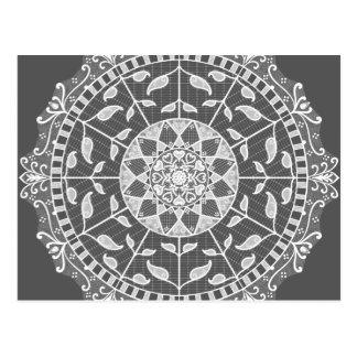Carte Postale Mandala de lamantin