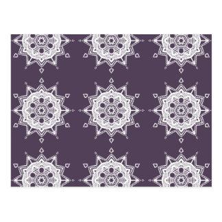 Carte Postale Mandala de prune