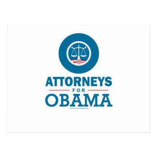 Carte Postale Mandataires pour Obama