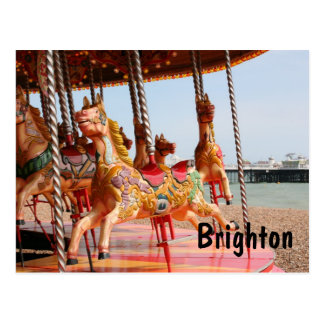 Carte Postale Manège, Brighton