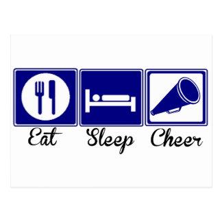 Carte Postale Mangez, dormez, encouragez