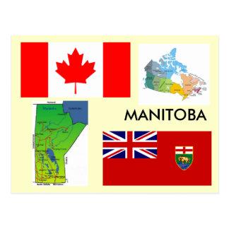 Carte Postale Manitoba, Canada