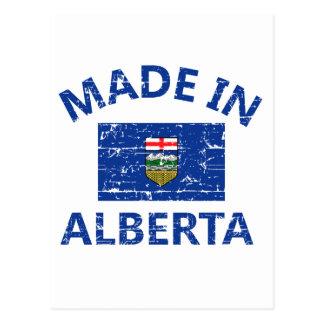 Carte Postale Manteau d'Alberta des bras