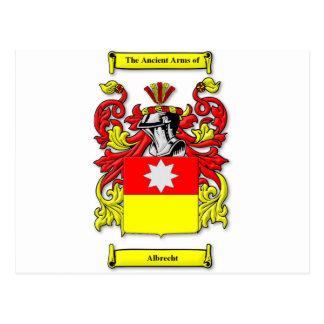 Carte Postale Manteau d'Albrecht des bras