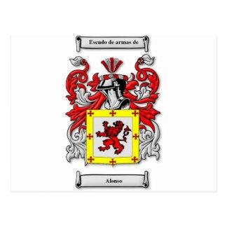 Carte Postale Manteau d'Alonso des bras
