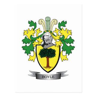 Carte Postale Manteau de Boyle des bras