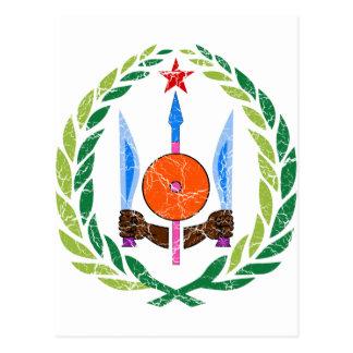 Carte Postale Manteau de Djibouti des bras