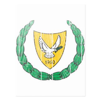 Carte Postale Manteau de la Chypre des bras