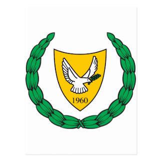 Carte Postale Manteau de la Chypre des bras CY