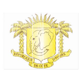 Carte Postale Manteau de la Côte d'Ivoire des bras