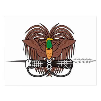 Carte Postale Manteau de la Papouasie-Nouvelle-Guinée des bras