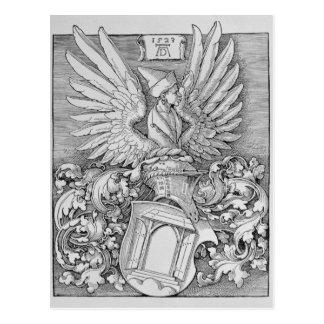 Carte Postale Manteau des bras de la famille de Durer