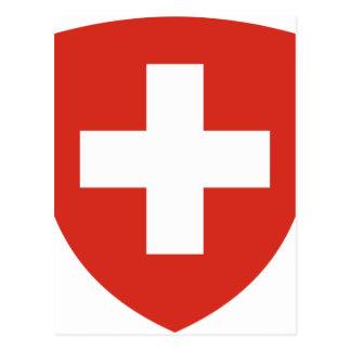 Carte Postale Manteau des bras du der Schweiz de la Suisse - du