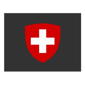 Carte Postale Manteau des bras suisse - souvenir de la Suisse