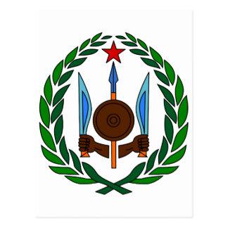 Carte Postale Manteau officiel de Djibouti de symbole