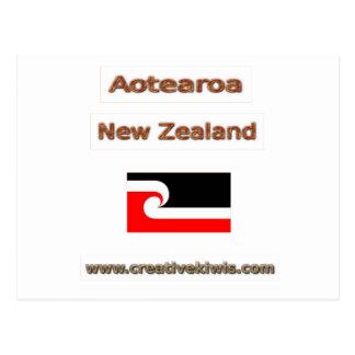 Carte Postale Maori, Aotearoa