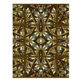 Carte Postale Maquette en verre religieuse d'illustration