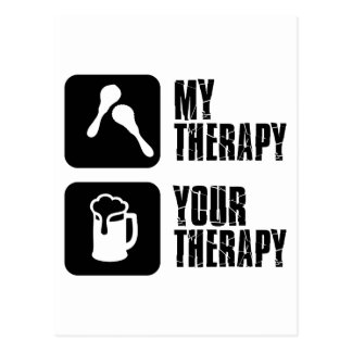 Carte Postale maracas ma thérapie
