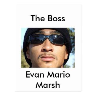Carte Postale Marais d'Evan Mario