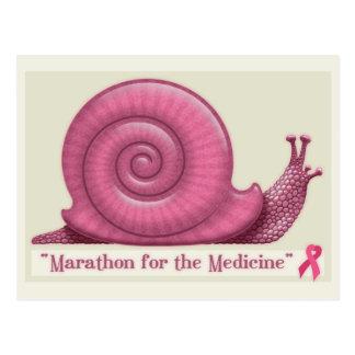 Carte Postale Marathon pour la médecine