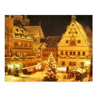 Carte Postale Marché Allemagne de Noël