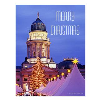 Carte Postale Marché de Noël de Gendarmenmarkt à Berlin