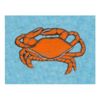 Carte Postale Marche en crabe (le Maryland, Golfe et Côte Est)