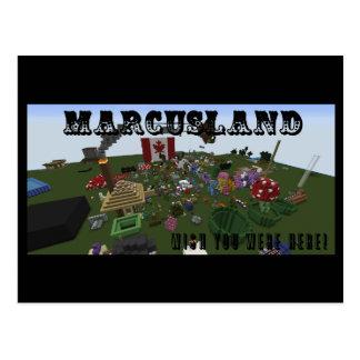 Carte Postale Marcusland !