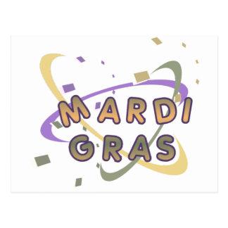 CARTE POSTALE MARDI GRAS 3