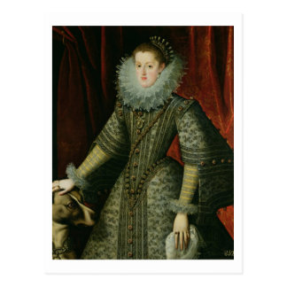 Carte Postale Margarita de la Reine de l'Autriche, 1609 (huile