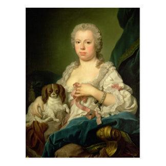 Carte Postale Maria-Barbara de Braganza